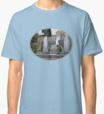 Raining up and down in Villa d'Este Classic T-Shirt