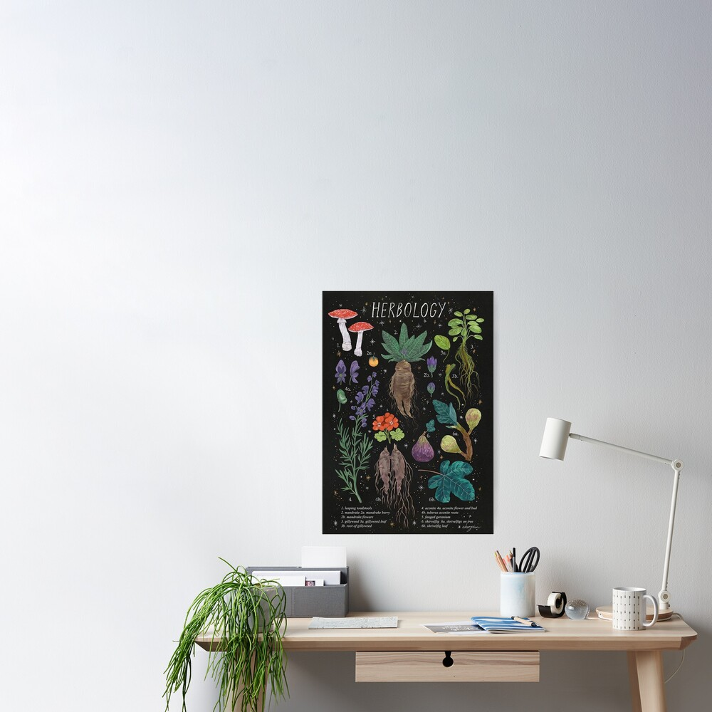Herbology Poster