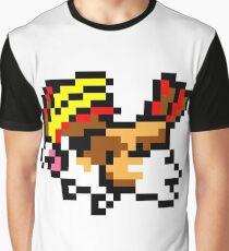 Pokemon 8-Bit Pixel Pidgeot 018 Graphic T-Shirt