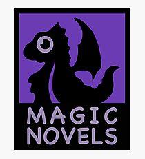Magic Novels Photographic Print
