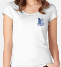 Blue Triumph Logo Women's Fitted Scoop T-Shirt