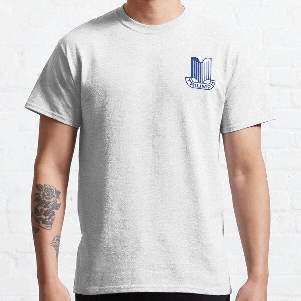 Logo Triumph bleu T-shirt classique