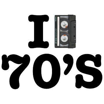 I LOVE THE 70's by whereismypanda