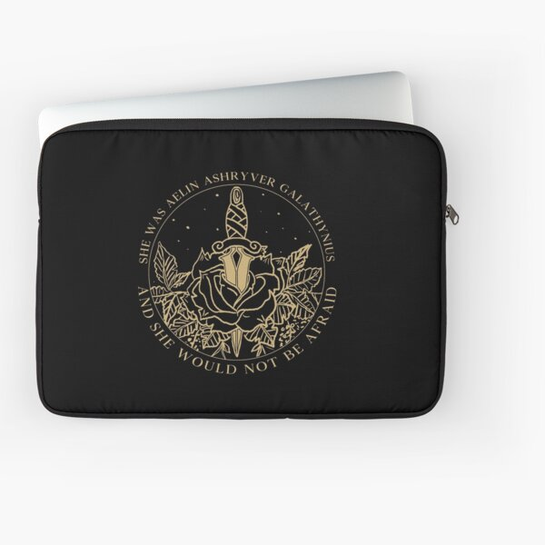 Aelin Galathynius - Throne of Glass Quote Laptop Sleeve