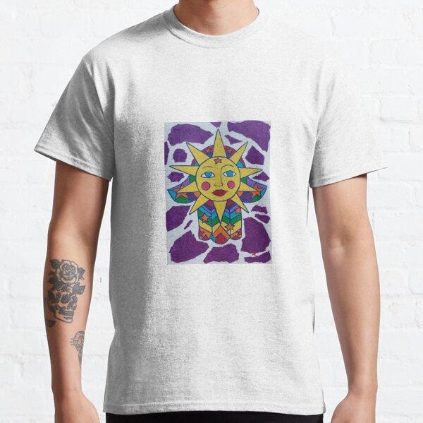 Power Source Hamsa by Harriette Knight Classic T-Shirt