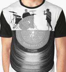 Vinyl music art Graphic T-Shirt