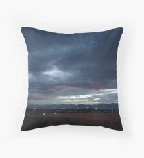 Twilight Cityscape Throw Pillow