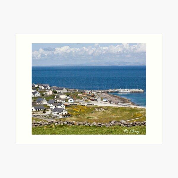 ARAN ISLANDS OF IRELAND Art Print