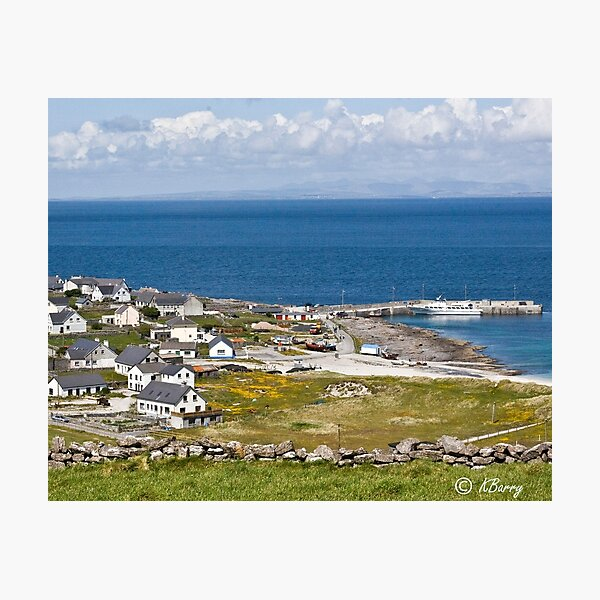 ARAN ISLANDS OF IRELAND Photographic Print