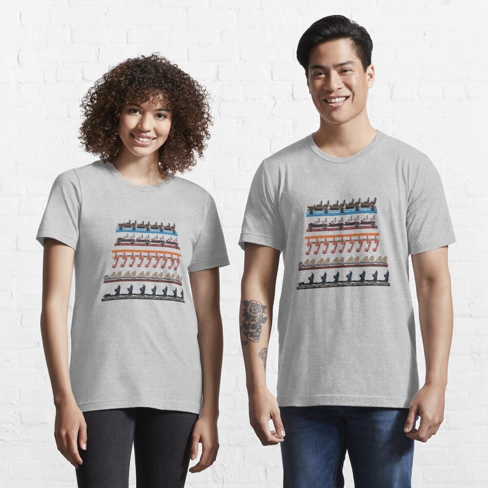 Energy Land Zator - 2021 Coaster Trains Design Essential T-Shirt