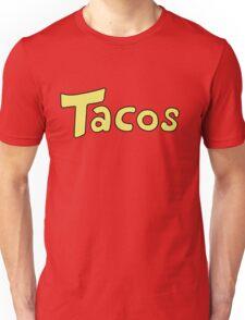 'Tacos' Shirt. Unisex T-Shirt