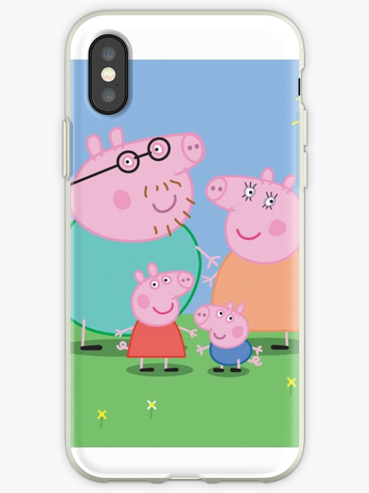 buy popular 4c164 a21c3 'peppa pig' iPhone Case by Imeggj