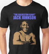 JACK JOHNSON (THE GALVESTON GIANT)-2 Unisex T-Shirt