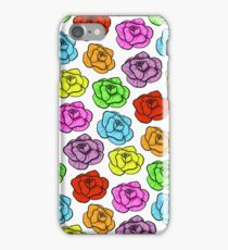 Multi-colour Flowers iPhone Case/Skin