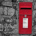 Red post box by frogs123