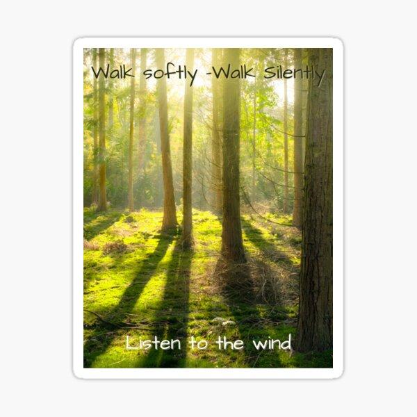 Listen to the Wind Sticker