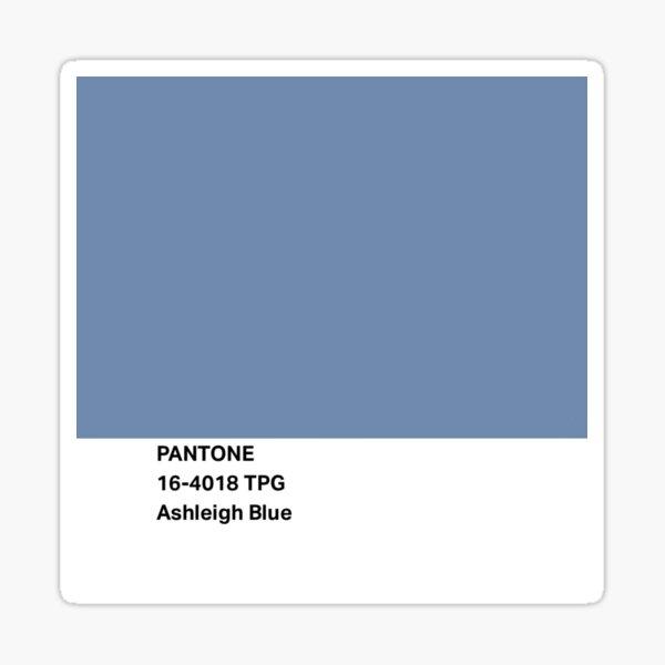 Ashleigh Blue Pantone Color Sticker