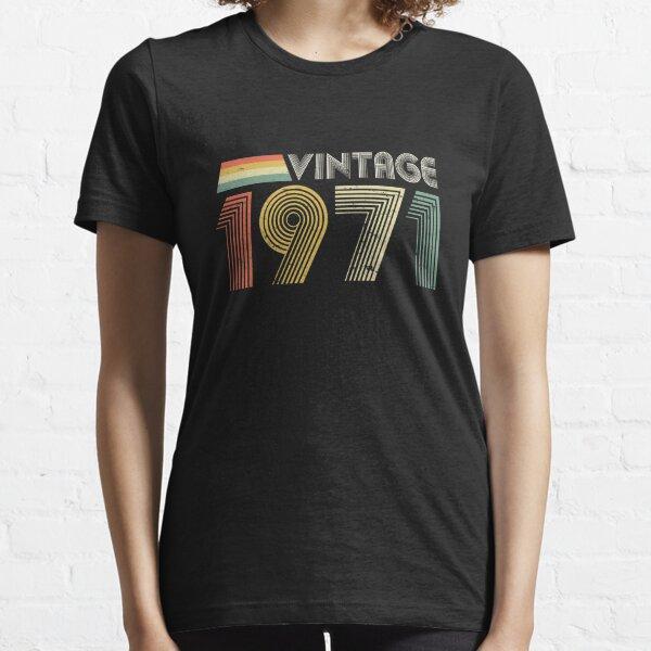 Vintage 1971, 50th Birthday Gift Essential T-Shirt