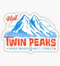 Twin Peaks- Welcome Sticker