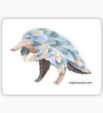 Magic Novels Pangolin Sticker