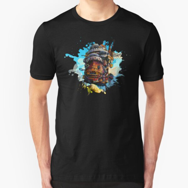 Howls painting Slim Fit T-Shirt