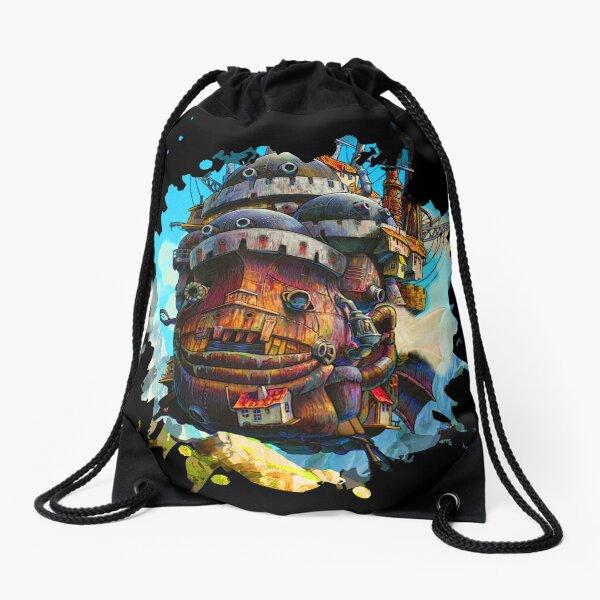 Howls painting Drawstring Bag