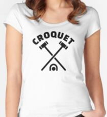 Croquet Women's Fitted Scoop T-Shirt