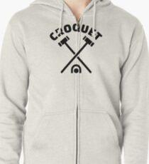 Croquet Zipped Hoodie