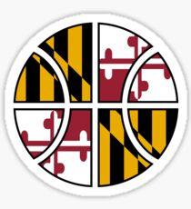 Maryland Basketball Sticker