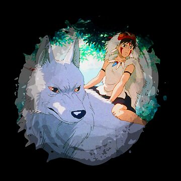 Mononoke painting 2 by whereismypanda