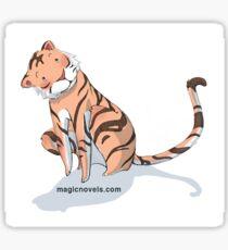 Magic Novels Tiger Sticker