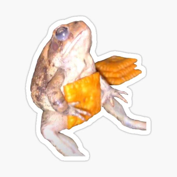 Cheez-It Frog Sticker