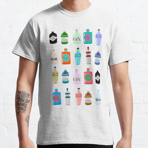 Gin bottles T-shirt  Classic T-Shirt