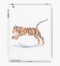 Magic Novels Jumping Tiger iPad Case/Skin
