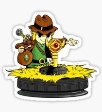 Raiders of the lost boss key Sticker