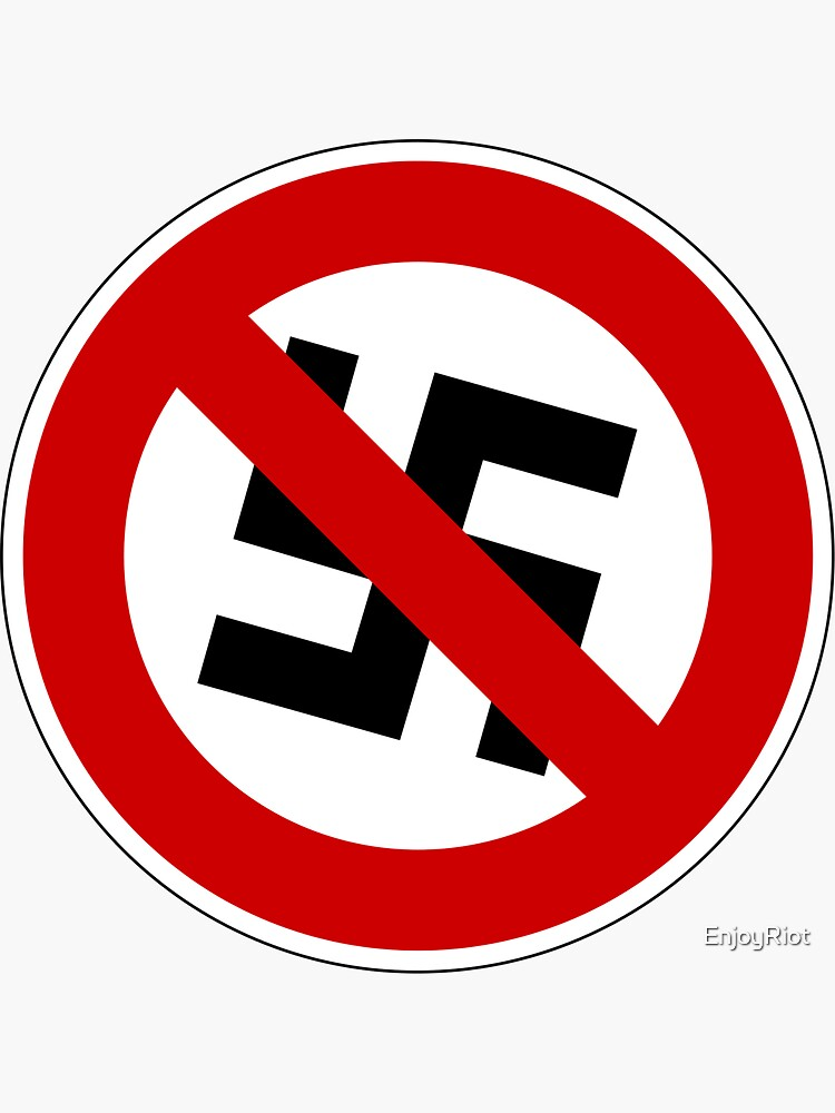 Anti-nazi for life. by EnjoyRiot