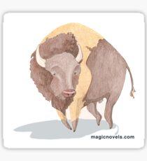 Magic Novels Bison Sticker