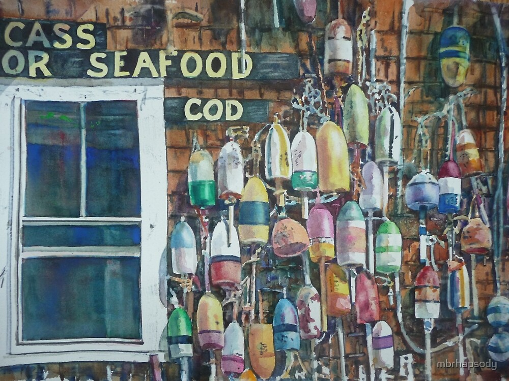 Cape Cod Buoy Collection by Marybeth Cunningham