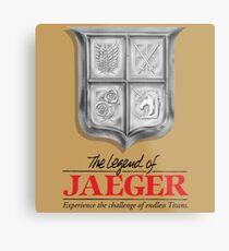 Legend of jaeger  Metal Print