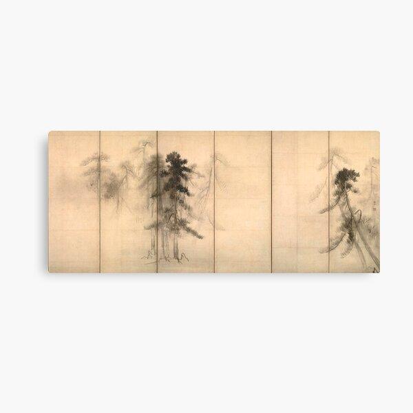 Hasegawa Tohaku Pine Trees Canvas Print