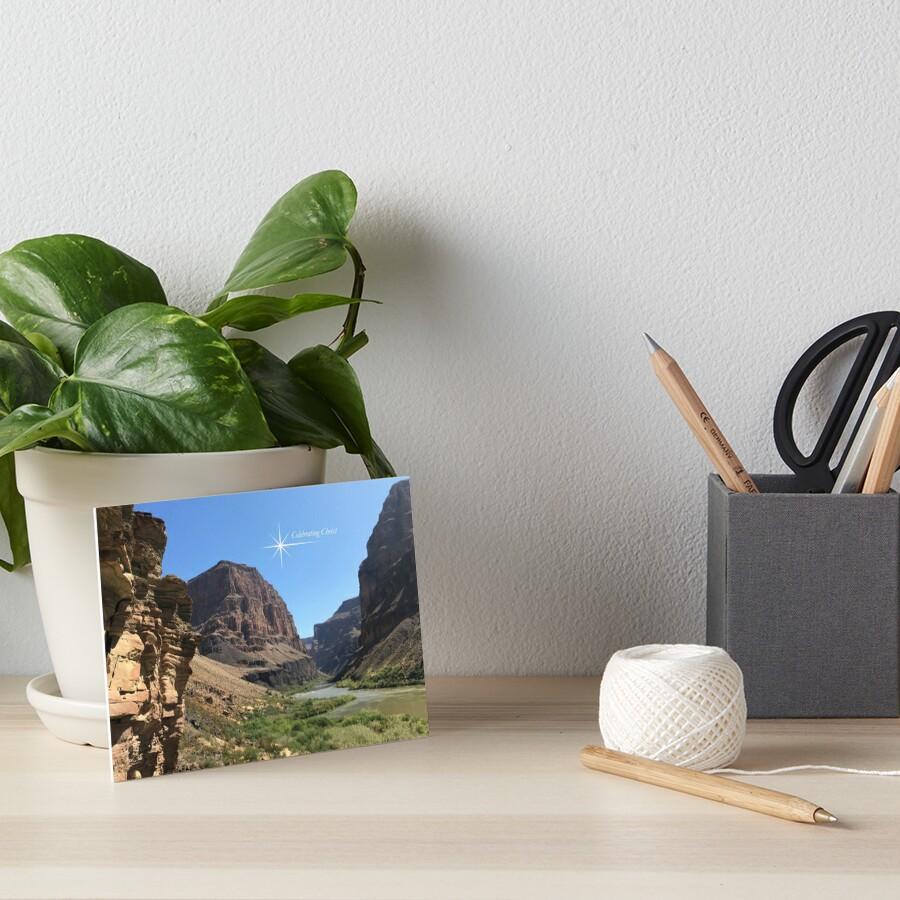 Grand Canyon Colorado River Scene - From ccnow.info Art Board Print