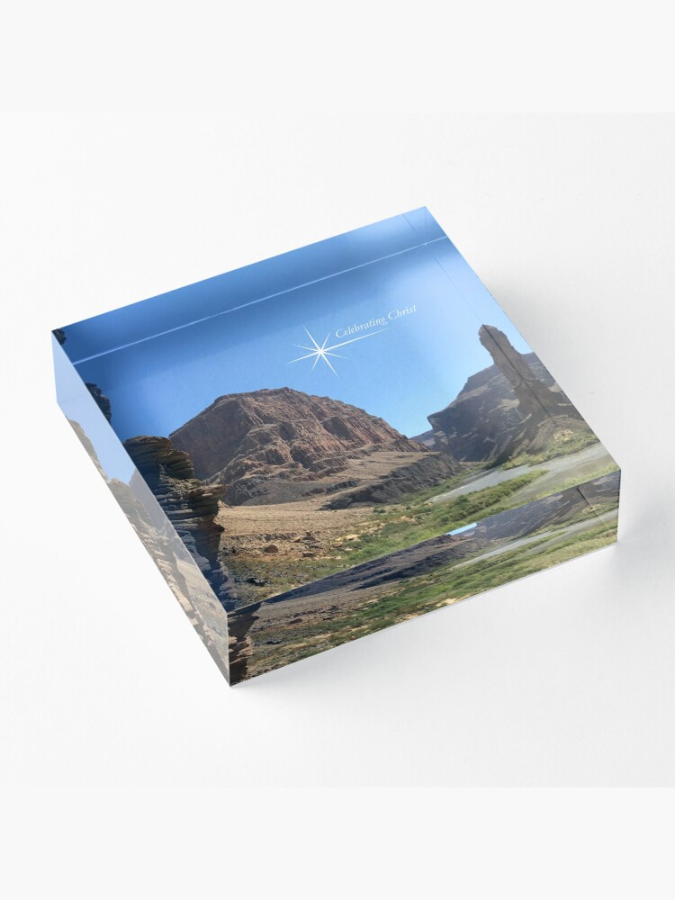 Alternate view of Grand Canyon Colorado River Scene - From ccnow.info Acrylic Block