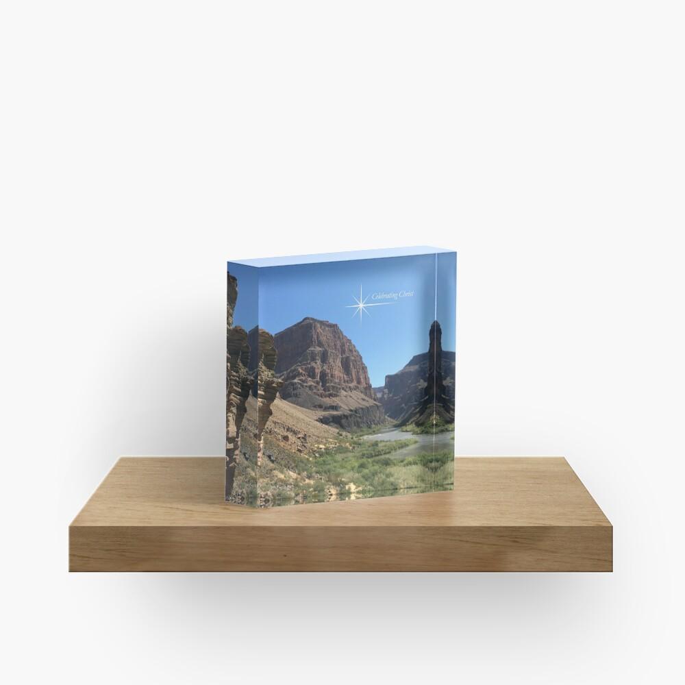 Grand Canyon Colorado River Scene - From ccnow.info Acrylic Block