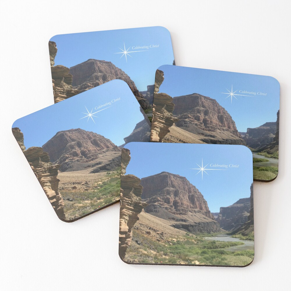 Grand Canyon Colorado River Scene - From ccnow.info Coasters (Set of 4)