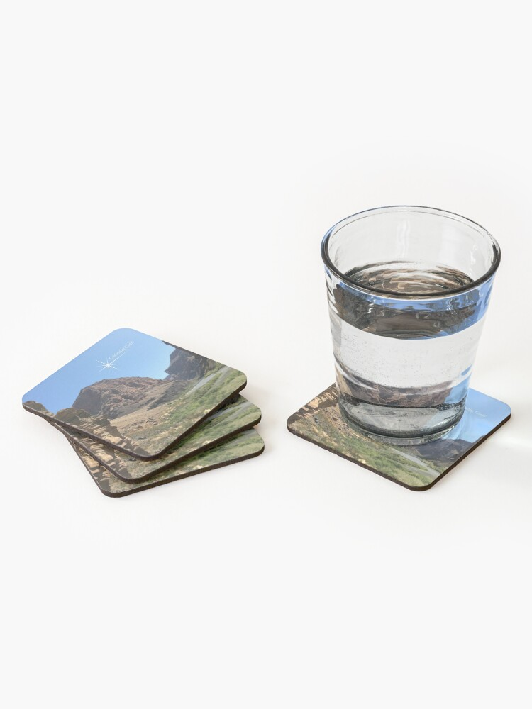 Alternate view of Grand Canyon Colorado River Scene - From ccnow.info Coasters (Set of 4)