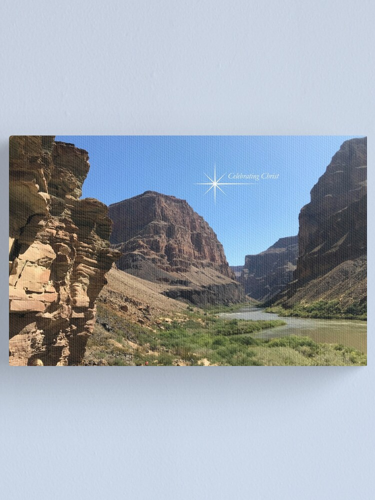 Alternate view of Grand Canyon Colorado River Scene - From ccnow.info Canvas Print