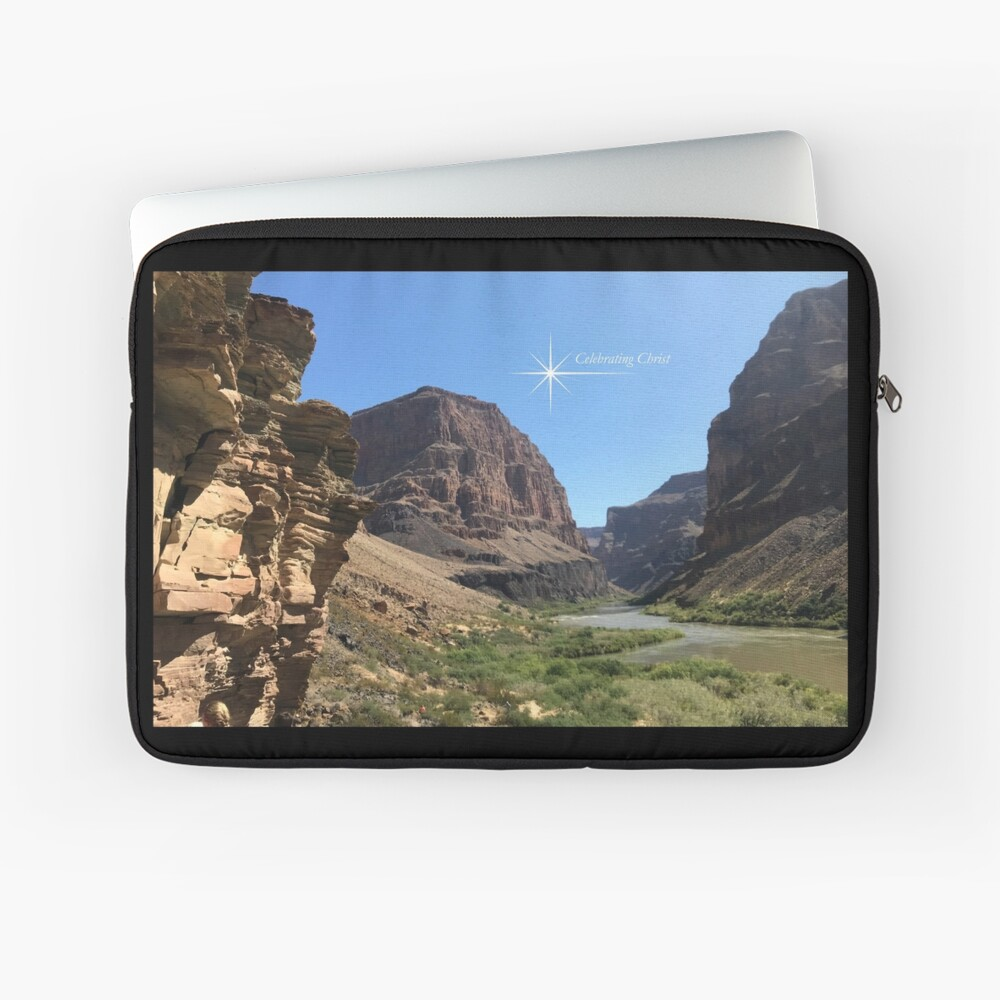 Grand Canyon Colorado River Scene - From ccnow.info Laptop Sleeve