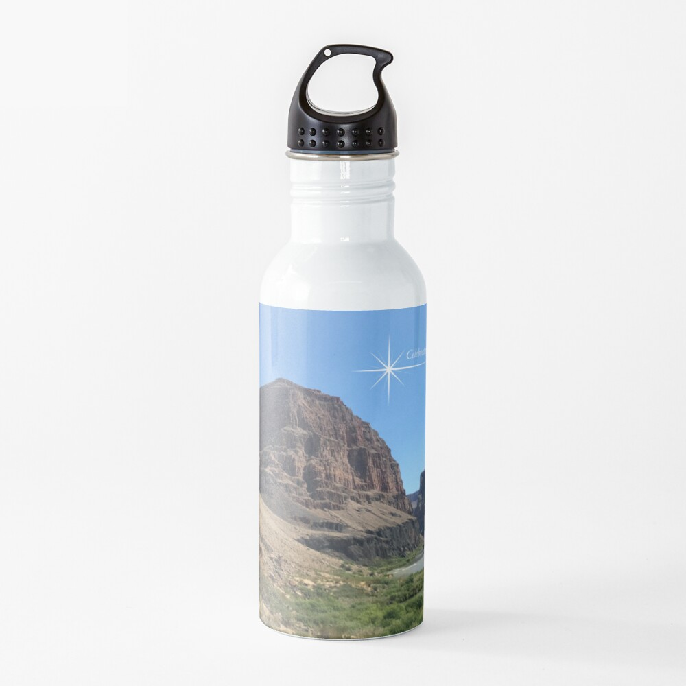 Grand Canyon Colorado River Scene - From ccnow.info Water Bottle