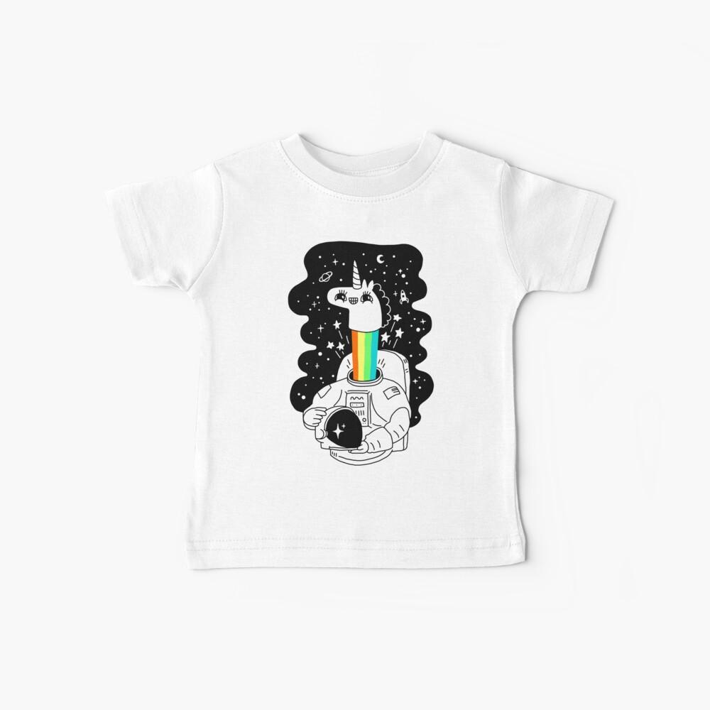 Wir sehen uns im Raum! Baby T-Shirt