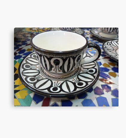 Morocco - a cup Canvas Print